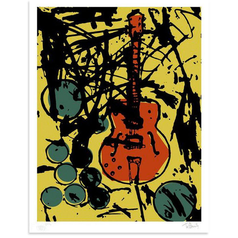 My Country Club Guitar by Tim Armstrong | Archive | Poster Child Prints