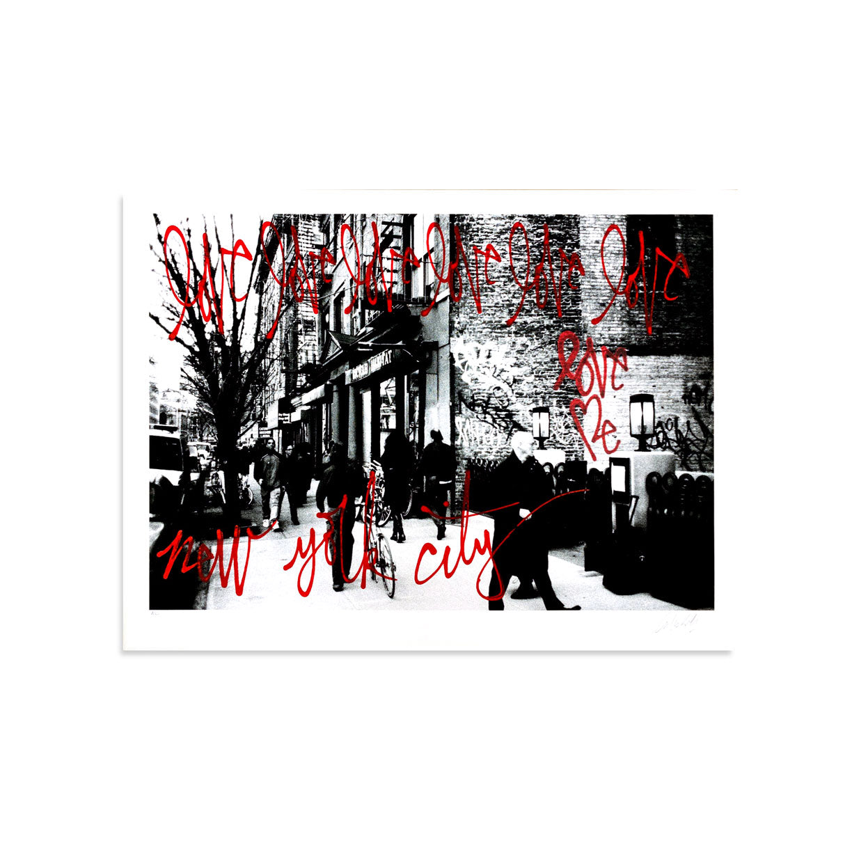 Love Me, NYC AE/6 by Curtis Kulig-Artist Edition-Poster Child Prints