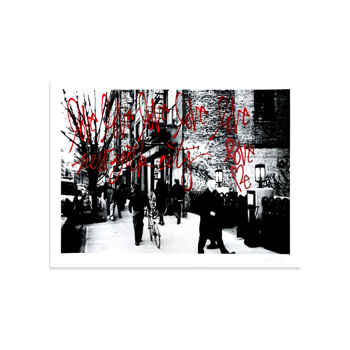 Love Me, NYC AE/7 by Curtis Kulig-Artist Edition-Poster Child Prints