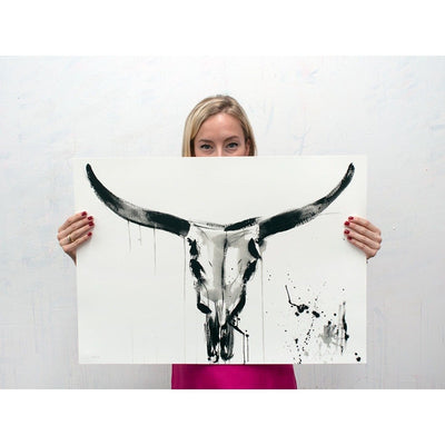 Jenna Snyder-Phillips | Art Prints | Toro | Bull Artwork