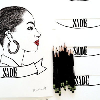 Sade is a newPrint by Deer Dana | Poster Child Prints