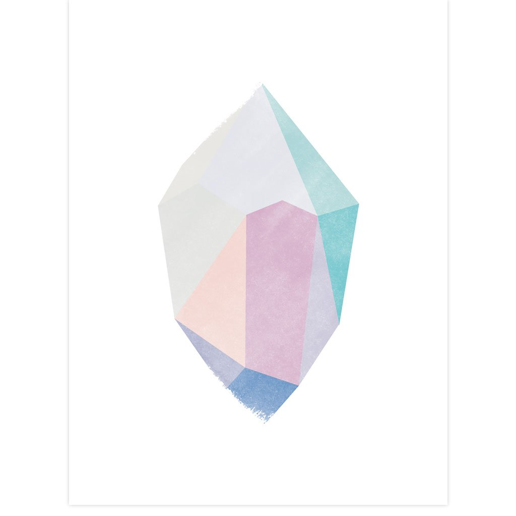 Diamond Gem by PCP Collection | Print | Poster Child Prints