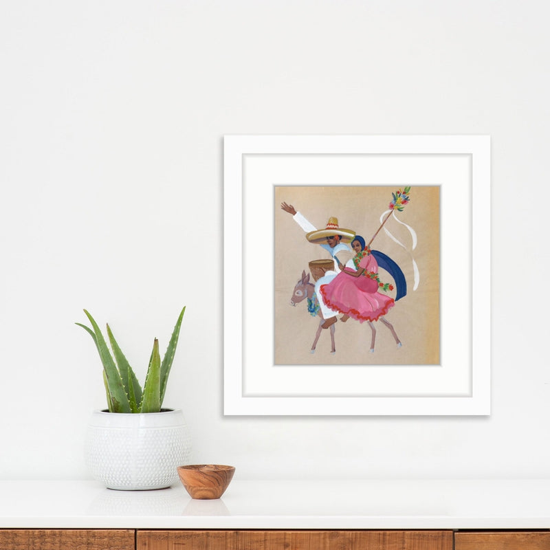 Donkey Travels | Poster Child Prints | Found Art | One of a Kind
