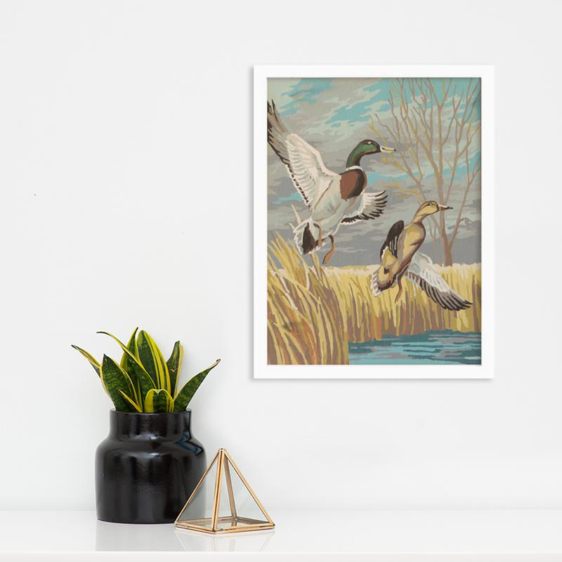 Ducks by Found Art | Found Art | Poster Child Prints