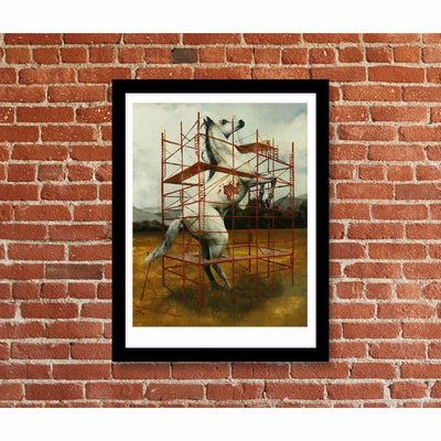 The Equine Construction, Kevin E. Taylor | Poster Child Prints