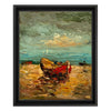 Red Boat by Found Art | Found Art | Poster Child Prints