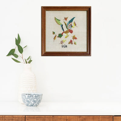 Fall Embroidery by Found Art | Found Art | Poster Child Prints
