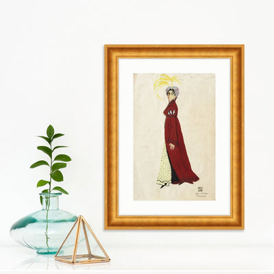 Fancy Lady | Poster Child Prints | Found Art | One of a Kind