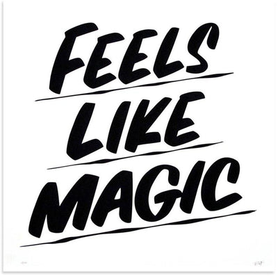 Baron Von Fancy Prints | Feels Like Magic | Sign Painting Art