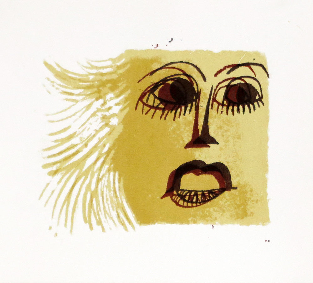 Femme, Gold Face by David Weidman | Print | Poster Child Prints