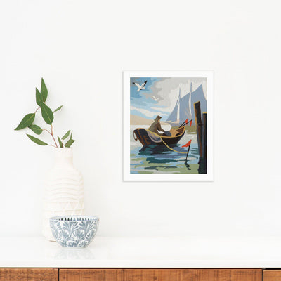 Fishing Boat by Found Art | Found Art | Poster Child Prints