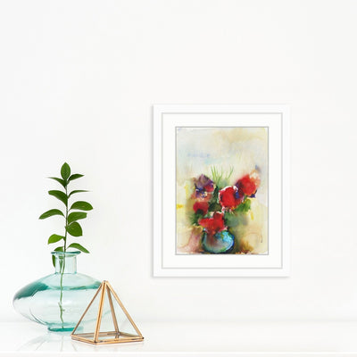 Watercolor Flowers by Found Art | Found Art | Poster Child Prints