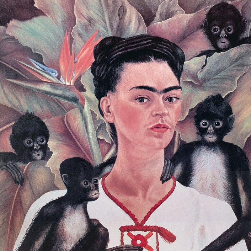Self-Portrait With Monkeys
