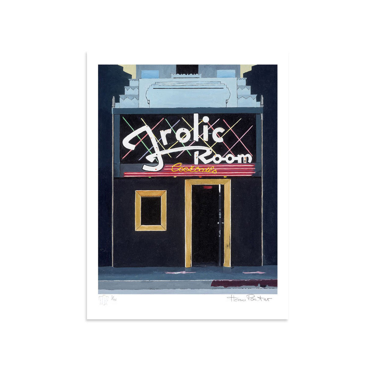Frolic Room by Horace Panter | Print | Poster Child Prints