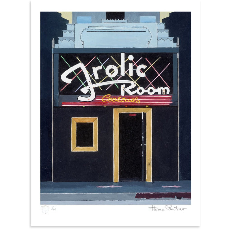 Frolic Room is a newPrint by Horace Panter | Poster Child Prints