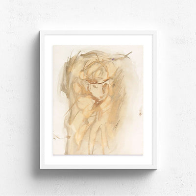 Golden Lady by Found Art | Found Art | Poster Child Prints