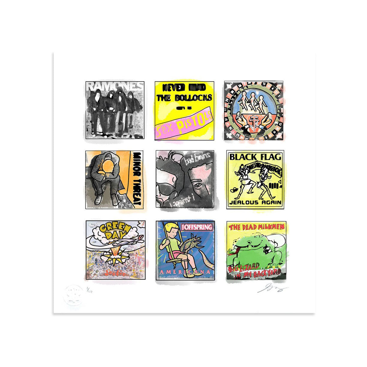 Classic Punk by Greg Foley | Print | Poster Child Prints
