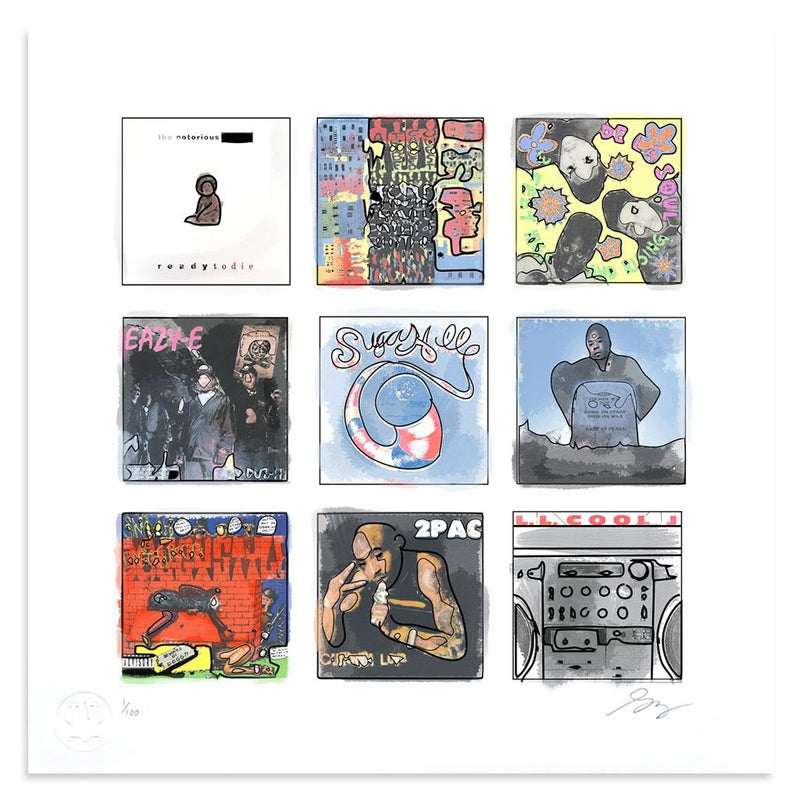 Golden Era Hip Hop by Greg Foley | Print | Poster Child Prints