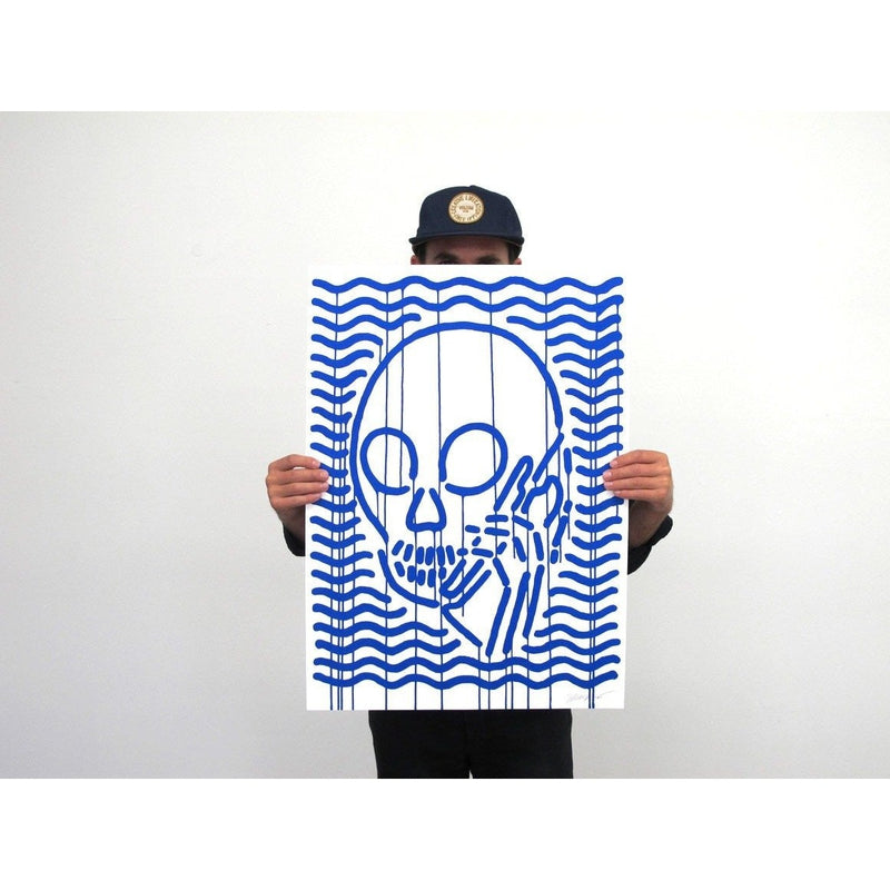 MOP Blue - Archive by Skullphone-Print-Poster Child Prints