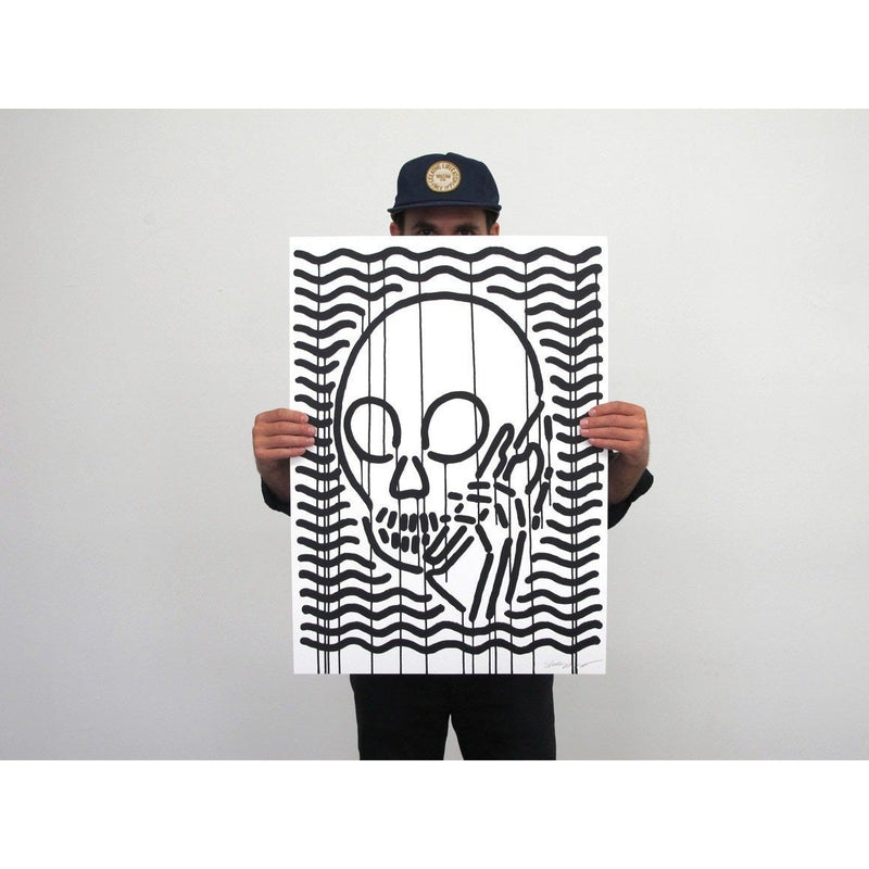 Skullphone | Poster Child Prints | MOP Black