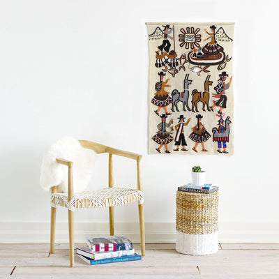 Peruvian Wall Hanging by Found Art | Found Art | Poster Child Prints