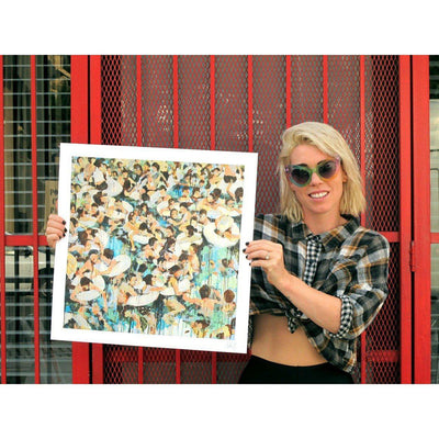 Hannah Hooper of GROUPLOVE | Spreading Rumors | Art Prints
