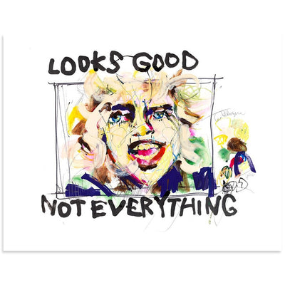 Looks Good Not Everything, Hannah Hooper | Poster Child Prints