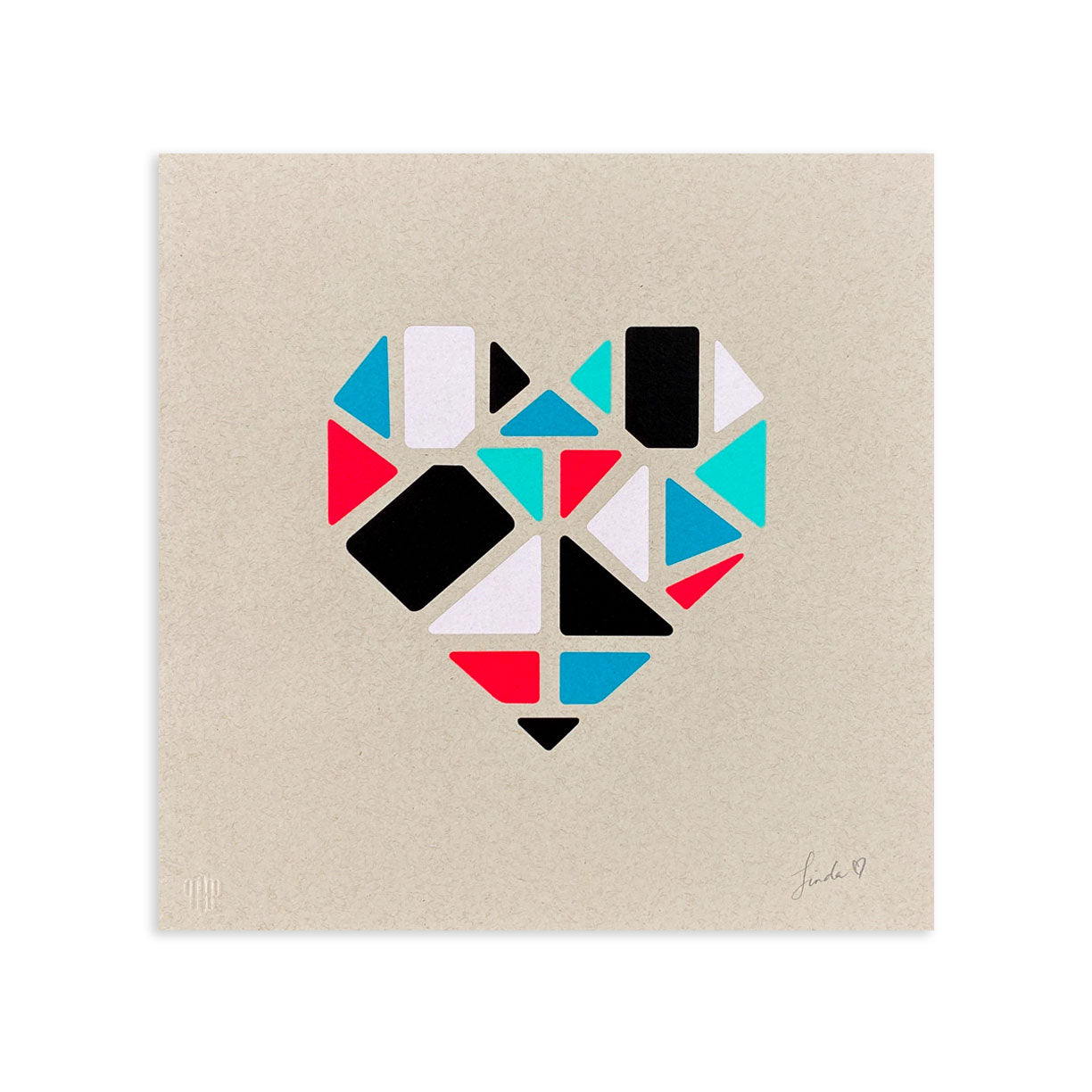 Love+Made, Heart III by Love+Made | Print | Poster Child Prints