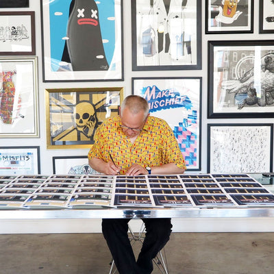 Horace Panter | Mr. Ramen | Giclee | Limited Edition Prints | Storefront Series
