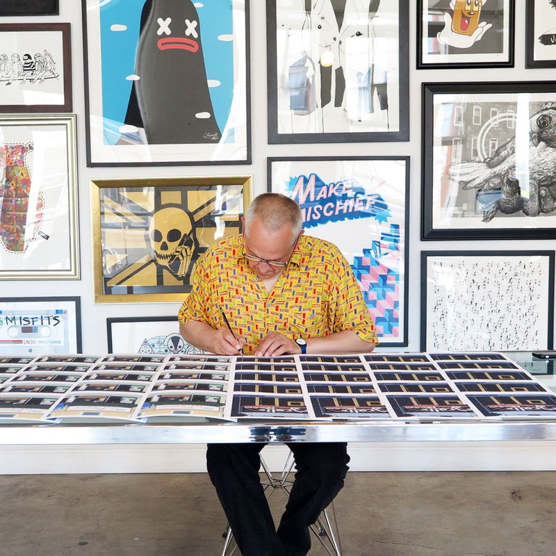 Mr. Ramen is a newPrint by Horace Panter | Poster Child Prints