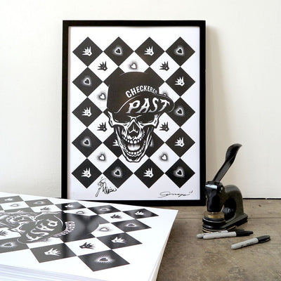 Checkered Past by ASVP | Print | Poster Child Prints