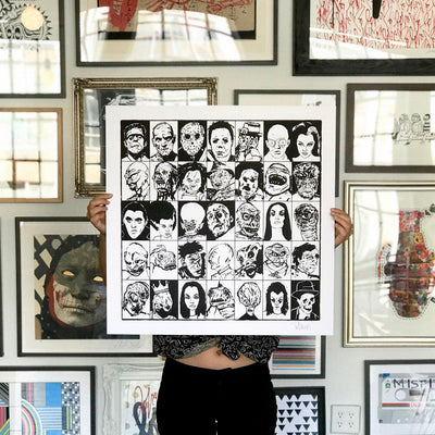 Monster Mugshots by Tim Armstrong | Archive | Poster Child Prints