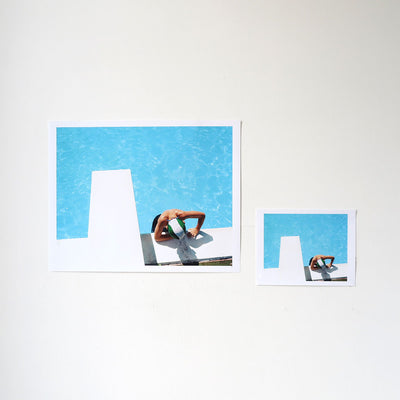 Noah Swimming is a newPrint by Benjamin Rasmussen | Poster Child Prints