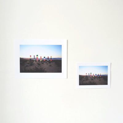 Seven Magic Mountains is a newPrint by Winnie Au | Poster Child Prints