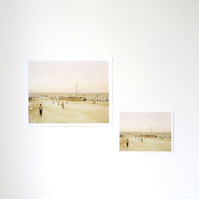 Playing in the Zaatari Refugee Camp is a newPrint by Benjamin Rasmussen | Poster Child Prints