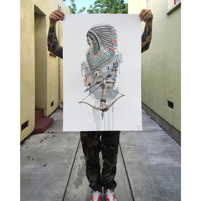 Word To Mother | Native | Street Art | Prints