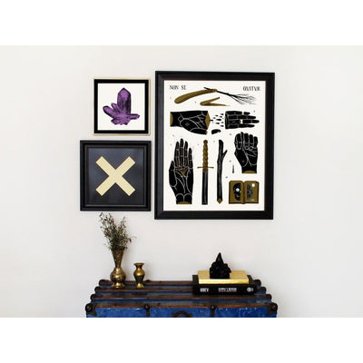 """X"", PCP Collection, Print 
