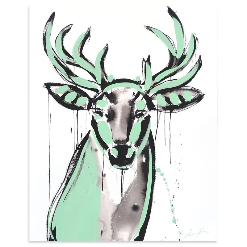 Buck AE/4 by Jenna Snyder-Phillips | Artist Edition | Poster Child Prints