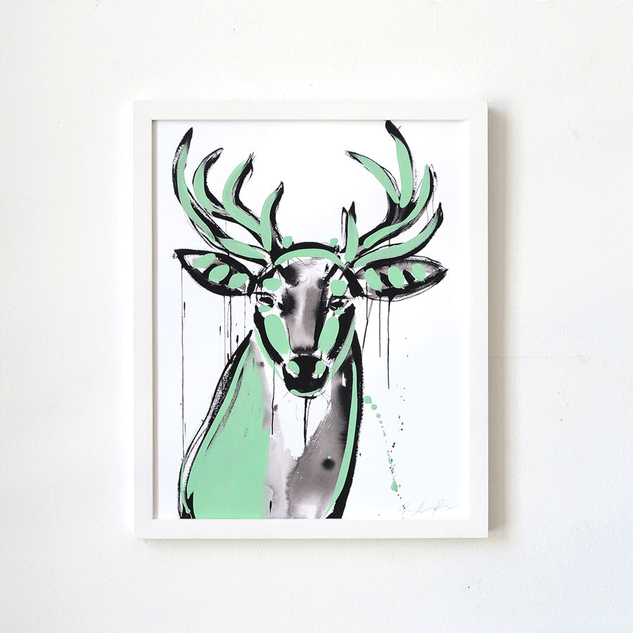 Buck (Artist Edition 4) is a newArtist Edition by Jenna Snyder-Phillips | Poster Child Prints