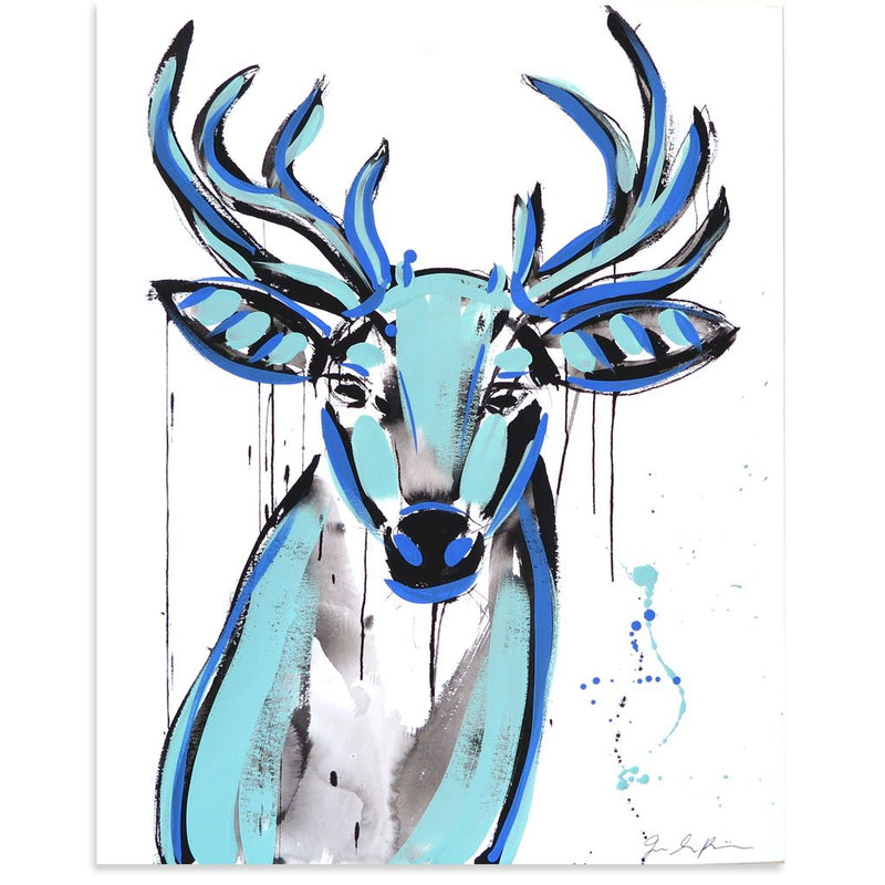 Buck AE/2 by Jenna Snyder-Phillips | Artist Edition | Poster Child Prints