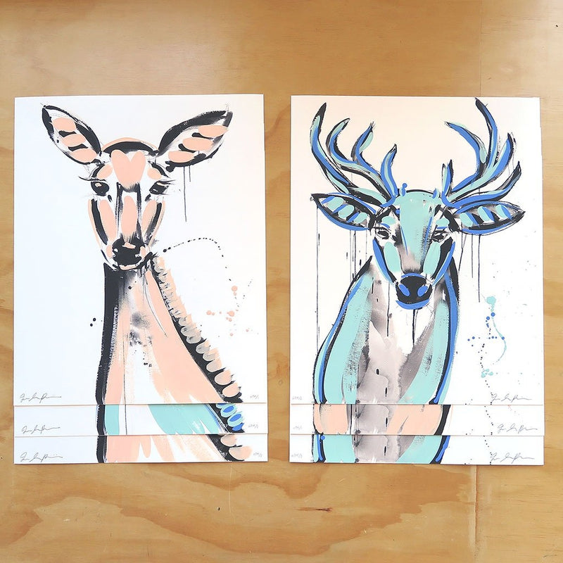Doe (Artist Edition 1) is a newArtist Edition by Jenna Snyder-Phillips | Poster Child Prints