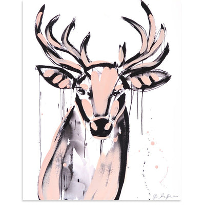 Buck (Artist Edition 1) is a newArtist Edition by Jenna Snyder-Phillips | Poster Child Prints
