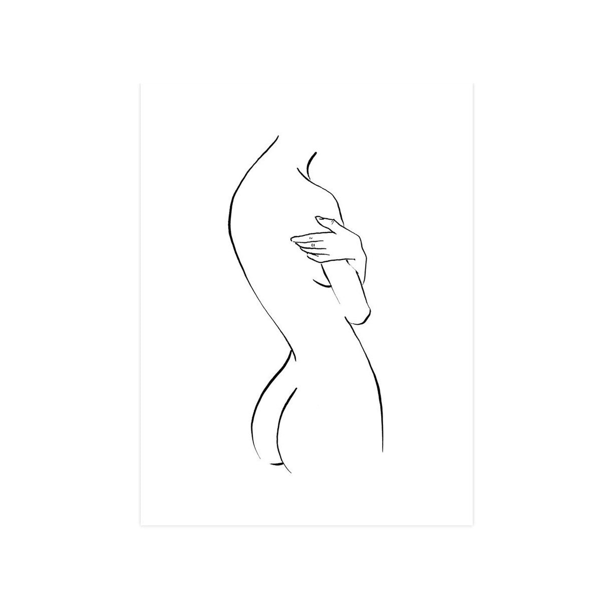 Nude With Arms Crossed by Jimmy Thompson | Print | Poster Child Prints