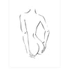 Jimmy Thompson | Poster Child Prints | Nude Turned | Ltd. Ed. Artwork | Nude Sketch Series