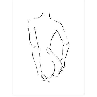 Nude Turned by Jimmy Thompson | Print | Poster Child Prints