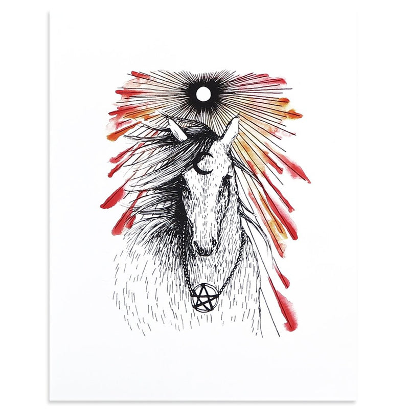 The Chariot is a newPrint by Kim Krans (The Wild Unknown) | Poster Child Prints