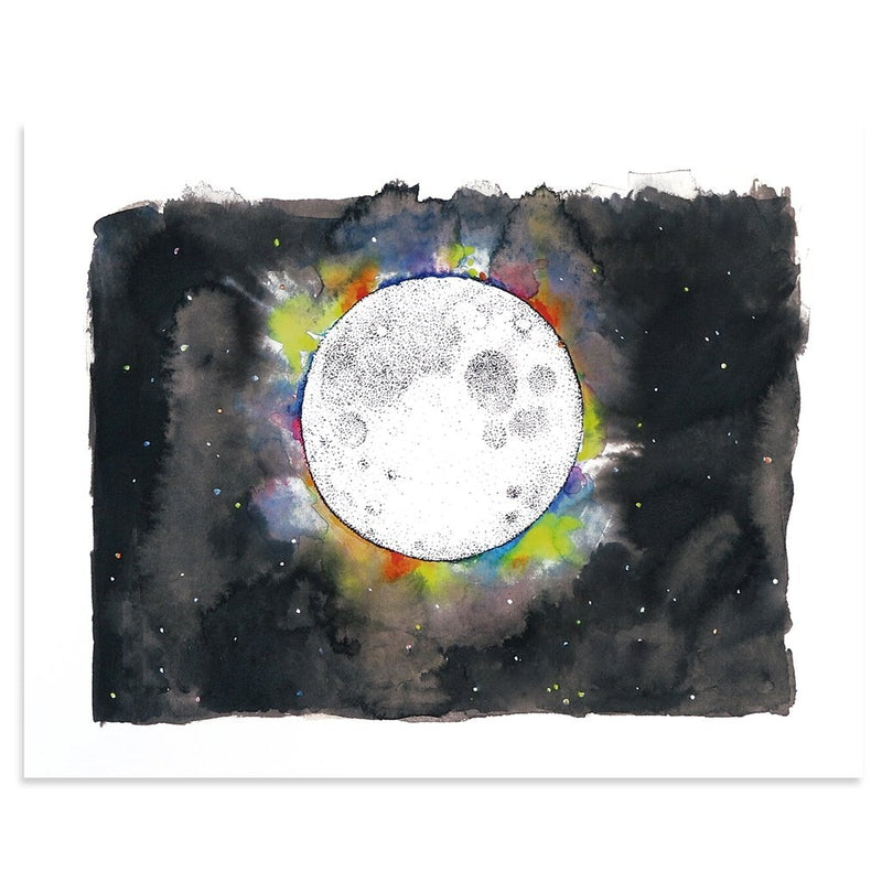 Full Moon by Kim Krans (The Wild Unknown) | Print | Poster Child Prints