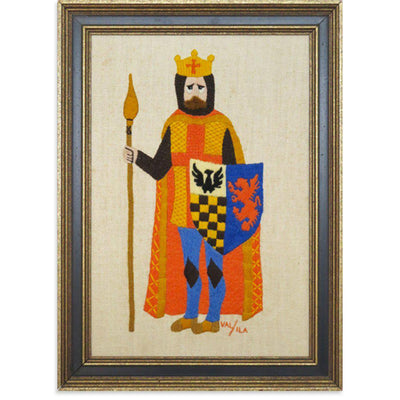 Knight with Blue Shield, Found Art | Poster Child Prints