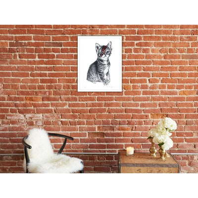 Kitty Stardust by Langley Fox | Print | Poster Child Prints