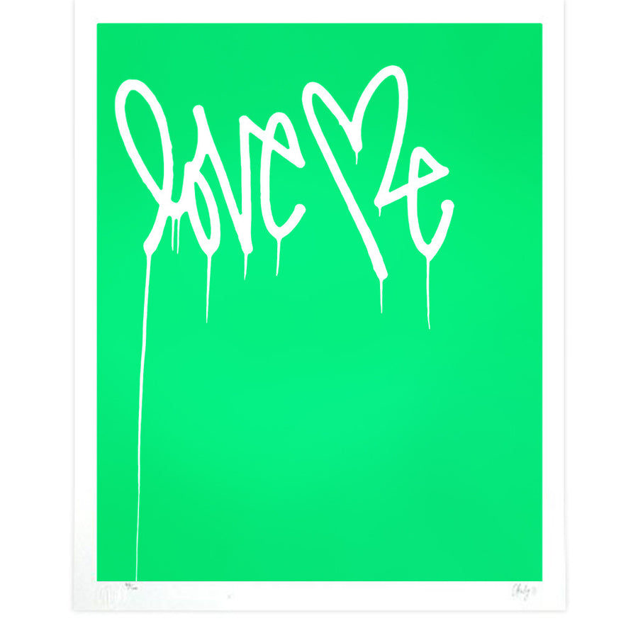 Love Me, Fluorescent Green
